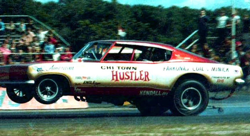 1967 Plymouth Barracuda Funny Car